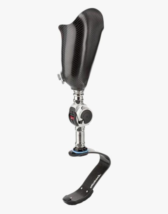 Kindersportprothese mit ottobock Kniegelenk