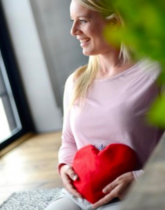 Sissel Cherry Kirschkernkissen Herzform