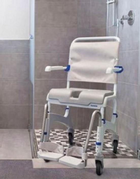 Mietprodukt Dusch- und Toilettenrollstuhl standard