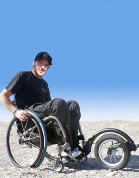 Freewheel - Rollstuhl Vorsatzrad