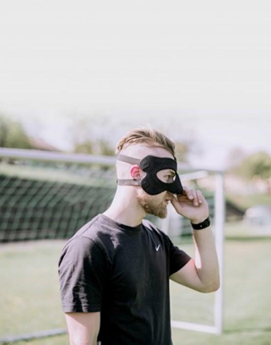 Raptor - 3D-gedruckte Gesichtsmaske nach Mass