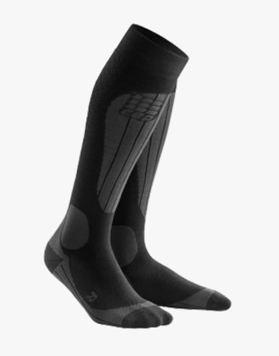 CEP Ski Thermo Socken black/anthracite