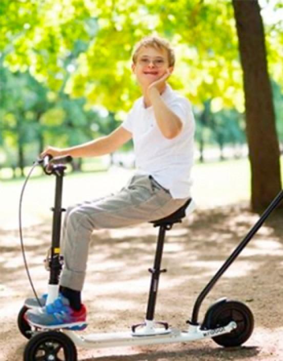 Schiebehilfe zur Laufhilfe - Krabat Runner