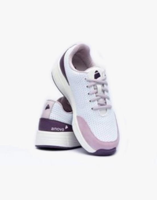 Anova Comfort Angelina White Bright Purple