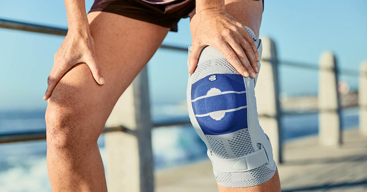 Bandage oder Orthese – das richtige Hilfsmittel bei Kniebeschwerden