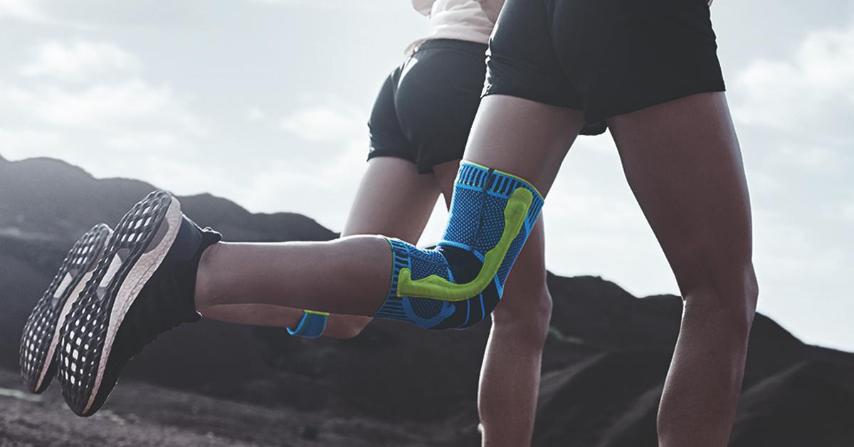 Trainieren, Entlasten und Therapieren rund um das Knie